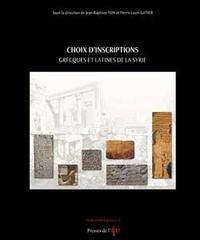 Livre numérique Choix d'inscription grecques et latines de Syrie