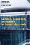 Livre numérique Langue, économie et entreprise : le travail des mots