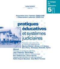 Numéro 5 | 2003 - Pratiques éducatives et systèmes judiciaires - RHEI