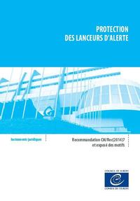 Protection des lanceurs d'alerte - Recommandation CM/Rec(2014)7 et exposé des motifs