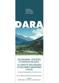 Livre numérique Économies, sociétés et espaces en Alpe: la grotte des Balmes à Sollières-Sardières (Savoie)