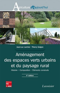 Livre numérique Aménagement des espaces verts urbains et du paysage rural