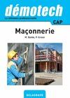Livre numérique Démotech Maçonnerie CAP (2016)