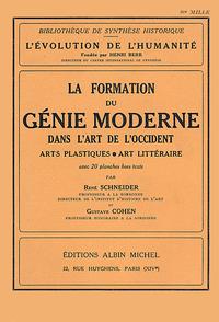 La Formation du génie moderne dans l'art de l'Occident