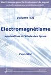 Livre numérique Électromagnétisme : applications à l'étude des lignes (Manuel d'électronique pour le traitement du signal Vol. 7)