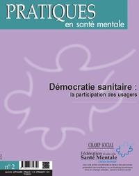 PSM 2-2016. Démocratie sanitaire : la participation des usagers