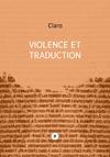 Livre numérique Violence et traduction