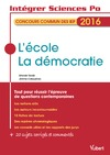 Livre numérique L'école, la démocratie - Concours commun des IEP