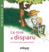 Livre numérique La rose a disparu