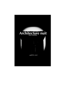 Livre numérique Architecture nuit
