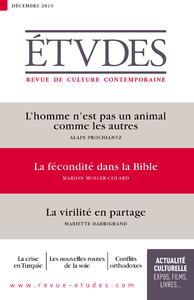 Revue Etudes - La virilité en partage