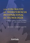 Livre numérique Los contratos de transferencia internacional de tecnología