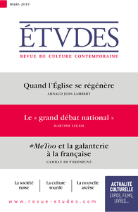 "Revue Etudes : le ""grand débat national"""