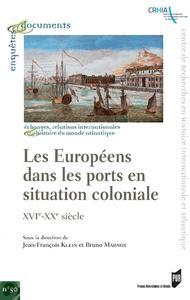 Livre numérique Les Européens dans les ports en situation coloniale