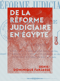 De la réforme judiciaire en Égypte