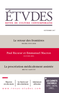 Etudes - Paul Ricoeur & Emmanuel Macron