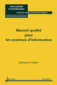 Livre numérique Manuel qualité pour les systèmes d'information