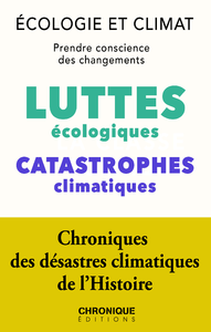 Livre numérique Écologie et Climat : luttes écologiques et Catastrophes climatiques