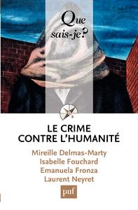 Le crime contre l'humanité, « Que sais-je ? » n° 3863