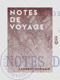 Notes de voyage, G?nes, Turin, Milan, Savone