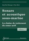 Livre numérique Sonars et acoustique sous-marine Vol. 2 : la chaîne de traitement du sonar actif