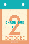 Livre numérique Chronique du 2 octobre