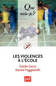 Les violences à l'école, « Que sais-je ? » n° 3929