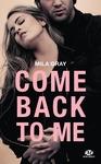 Livre numérique Come back to me