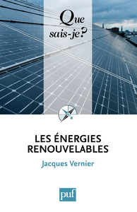 Vignette du livre Les énergies renouvelables