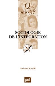 Sociologie de l'intégration, « Que sais-je ? » n° 3292