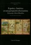 Livre numérique España y América en una perspectiva humanista
