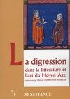 Livre numérique La digression dans la littérature et l'art du Moyen Âge