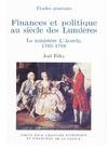 Livre numérique Finances et politique au siècle des Lumières