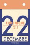 Livre numérique Chronique du 22 décembre