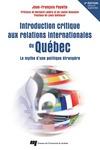 Livre numérique Introduction critique aux relations internationales du Québec - 2e édition revue et augmentée