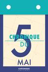 Livre numérique Chronique du 5  mai