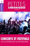 Livre numérique Petites Chroniques #8 : Concerts et festivals — De la distraction au militantisme…