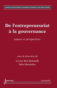 Livre numérique De l'entrepreneuriat à la gouvernance