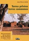 Livre numérique Terres privées, terres communes
