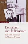 Livre numérique Des savants dans la Résistance