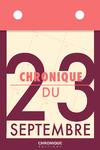 Livre numérique Chronique du 23 septembre