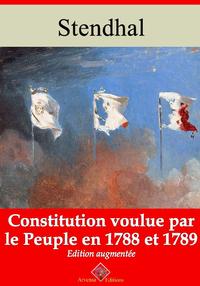 Constitution voulue par le peuple en 1788 et 89 – suivi d'annexes