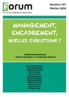 Livre numérique Forum 147 : Management, encadrement, quelles évolutions ?