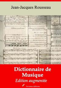 Dictionnaire de musique – suivi d'annexes