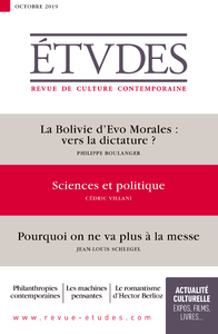 Revue Etudes - Sciences & Politique