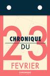 Livre numérique Chronique du 23  février