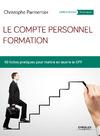 Livre numérique Le compte personnel formation
