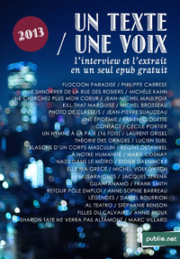 Livre numérique Un Texte / Une Voix
