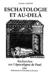 Livre numérique Eschatologie et au-delà