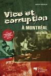 Livre numérique Vice et corruption à Montréal